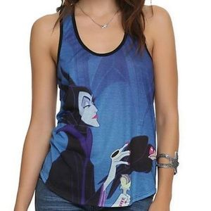 Women's Maleficent Tank Size Large